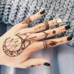 узоры на руке