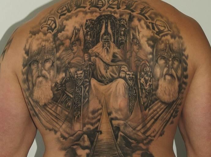 Вальхалла на спине