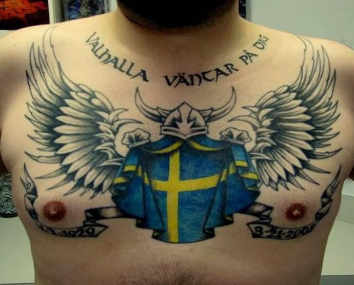 татуировка викинга