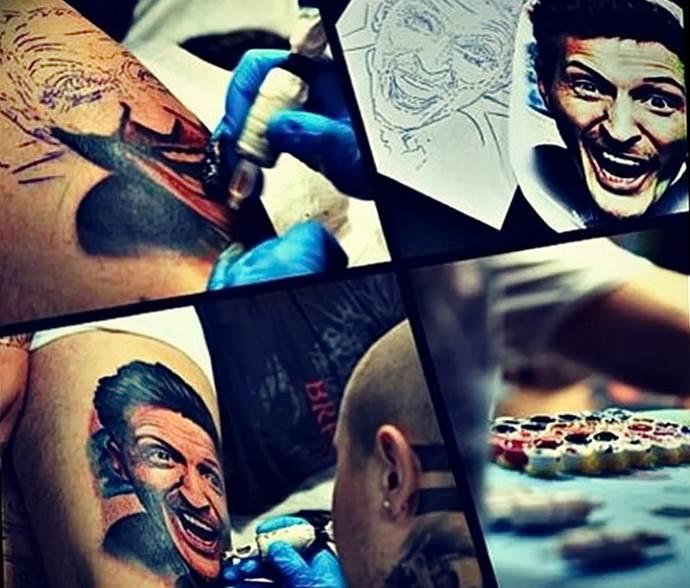 коллаж татуировок