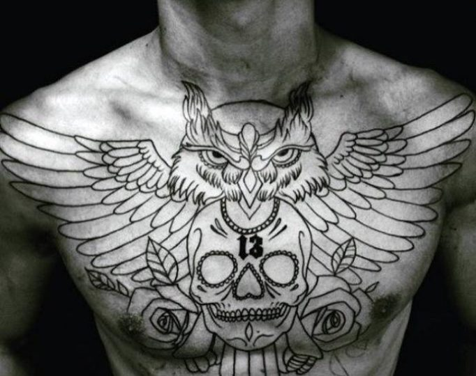tattoos-on-a-breast-men's-t7e5u35yge