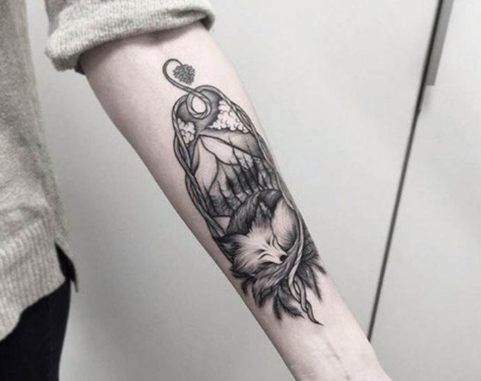 20-Tattoo-on-the-forearm-of-the-girl-fox